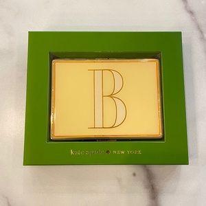 KATE SPADE Letter B Lenox Card ID Case